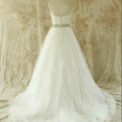 Simple 2016 Vintage Wedding Dress P..