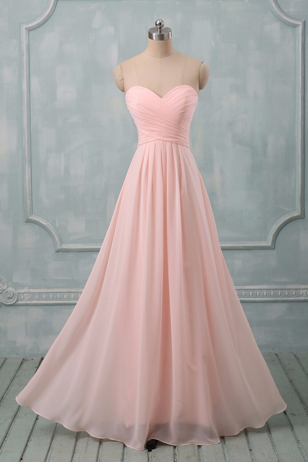 Cheap Pastel Colors Prom Dresses To Wedding Party Long A Line