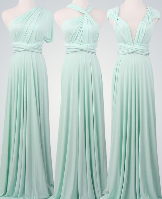 2018 Mint Bridesmaid Dress Different Style Bridesmaid Dress Chiffon Long Bridesmaid Dresses Bridesmaid Dress