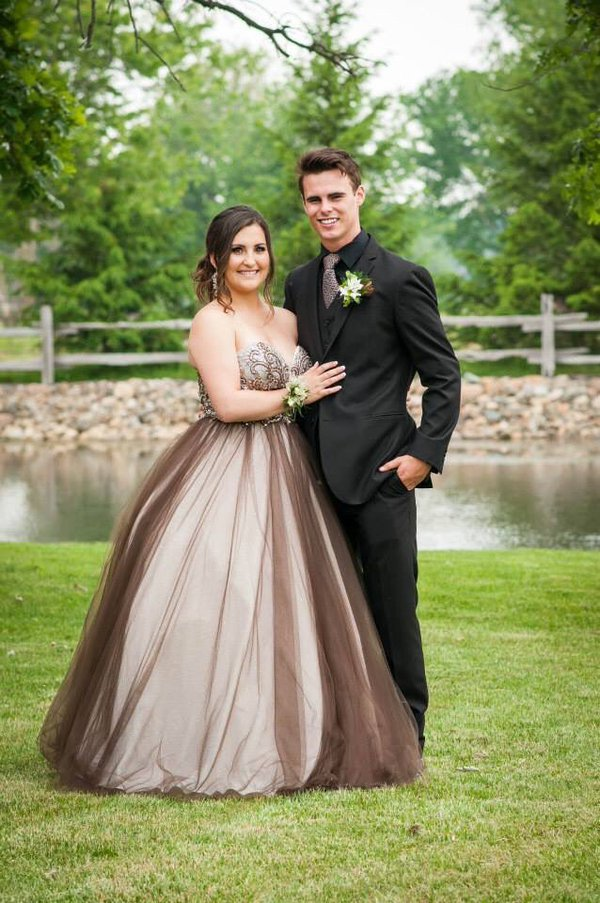 Prom Dresses Sexy Plus Size Chocolate Long Prom Dress Formal Evening Dress Party Gowns robes de bal