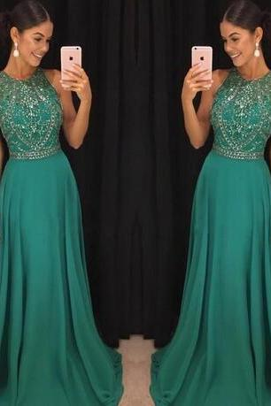 2018 sexy cheap plus size formal evening gowns backless beaded green prom dress african prom dresses