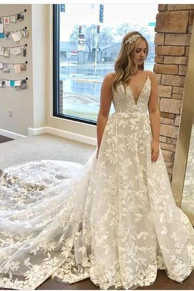 White Mermaid Wedding Dresses Lace Gorgeous Bridal Dresses Lace Country Wedding Gowns vestido de noiva renda
