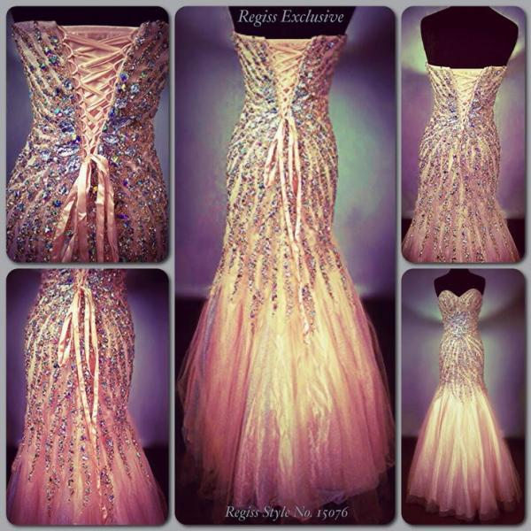 2016 Luxury Bling Sparkle Real Image Prom Dresses Mermaid Sweetheart Beads Crystals Lace Up Evening Party Gowns Vestidos