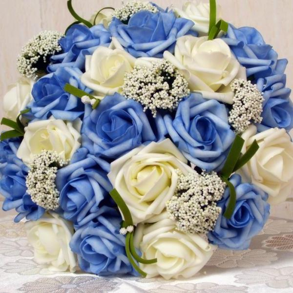 2016 Cheap Wedding Bouquet Bridal Bridesmaid Flower Pink/Red/Purple/Blue Artificial Flower Rose Bride Bouquets buque de noiva