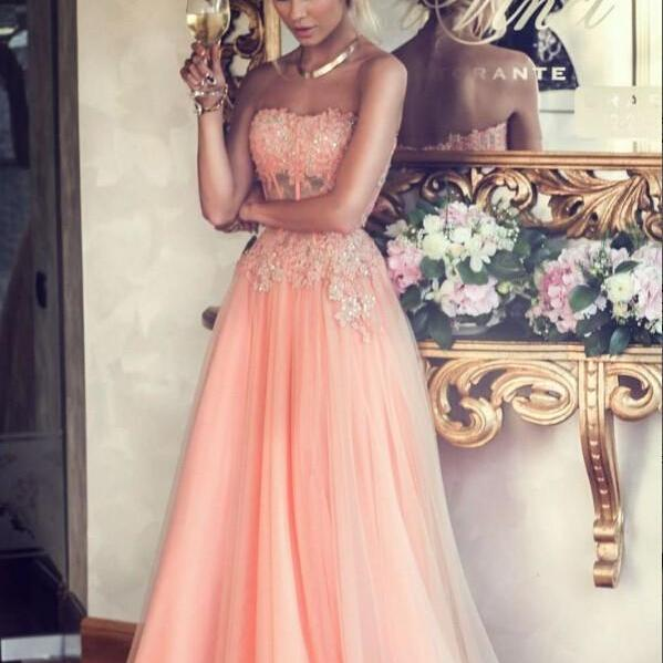 Floor Length Long Girl Party Prom Dresses Graduation Dresses Green And White Lace Tulle quinceanera dresses